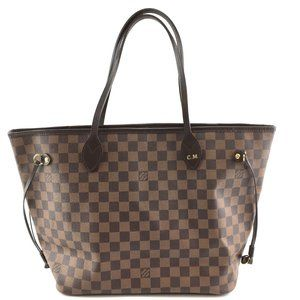 Louis Vuitton Bags - Neverfull Mm Tote Brown Canvas Shoulder Bag